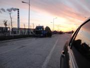 Sunset in late November 2012