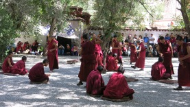 Monks at Sera