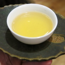 A cup of white tea