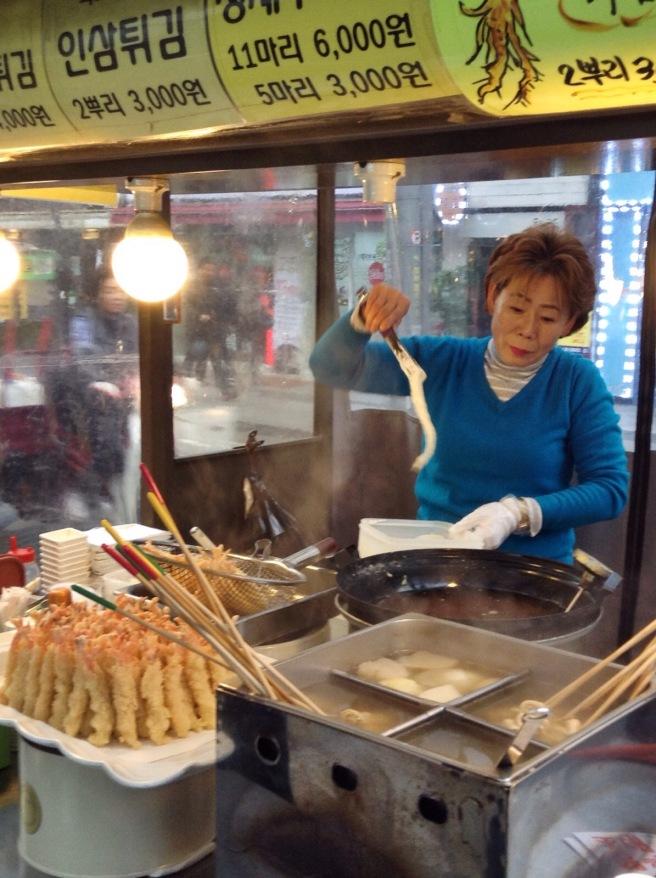 Deep fried ginseng
