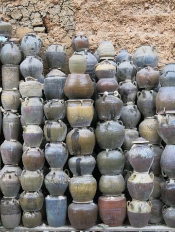 Pottery Wall